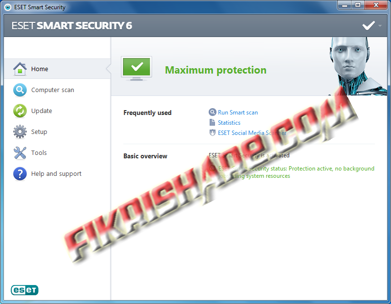 eset nod32 6 full crack internet