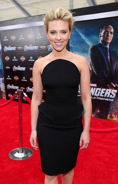 The Avengers Premiere: Scarlett Johansson