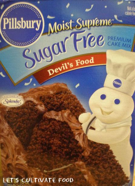Pillsbury Sugar Free Cake Mix