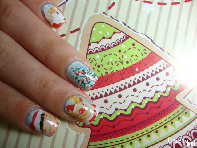Christmas Water Decals