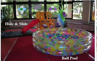 hide and slide + ballpool