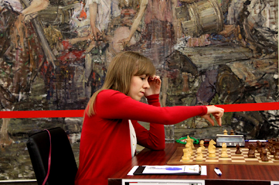 Olga Guiria figure parmi les favorites - Photo © Chess & Strategy