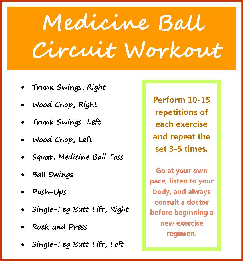 emjay's course: Medicine Ball Circuit Workout