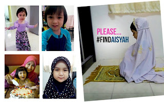 missing kid Aisyah