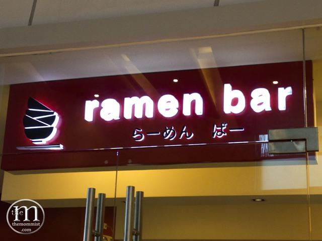 Ramen Bar Signage Robinson's Magnolia