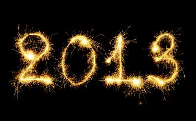 Feliz 2013 fuegos artificiales