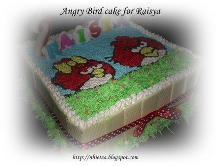 Angry Bird for Raisa ini dipesan oleh teman SMU nhie , Nur Anggraeni