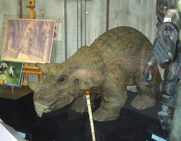 Jurassic Park 3 Animatronic baby Triceratops