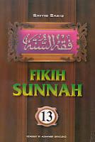 toko buku rahma: buku fiqih sunnah 13, pengarang sayyid sabid, penerbit pt. alma'arif bandung