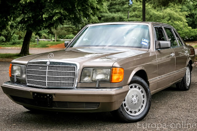 w126 brown