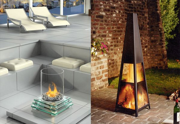 ... ideas: Outdoor Portable Fireplace Design and Decorating Ideas