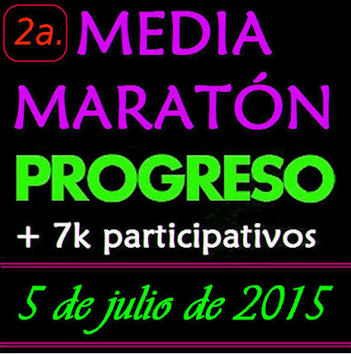 Media maratón de Progreso y 7k (Canelones, 05/jul/2015)