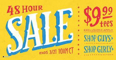 Neuer Sale bei Threadless: T-Shirts für 9,99$ das Exemplar