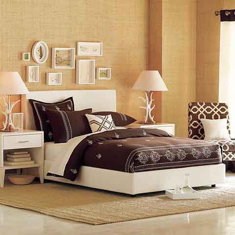 احدث الوان دهانات وفرش غرف النوم | جمــــــال بــيــتـــــــك