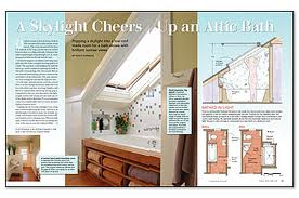 Small Bathrooms Under Eaves attic works: attic bathrooms