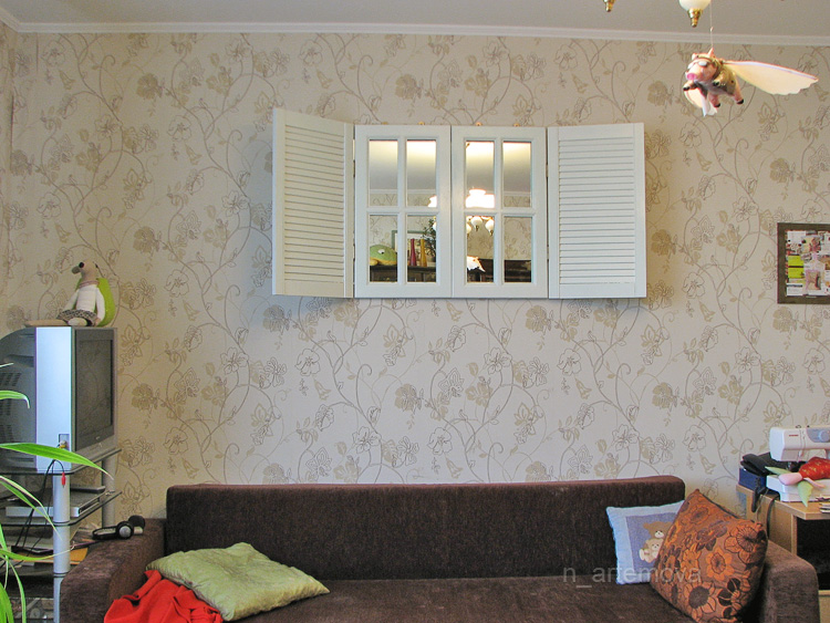 home interiors window shutter mirror images