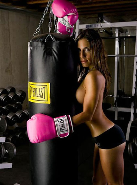 Kina Malpartida, boxeo, boxeadora, sexy, guapa, culo, morena, chica 1X2