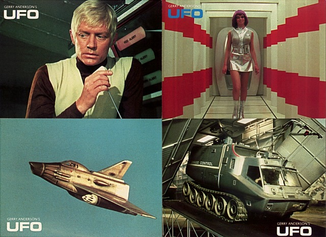 Ufo was a short lived series that looks very dated by today s