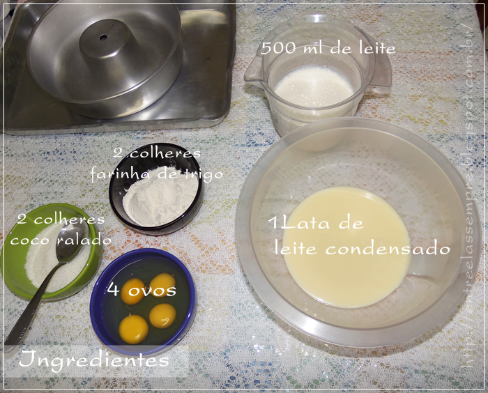 Ingredientes entre elas