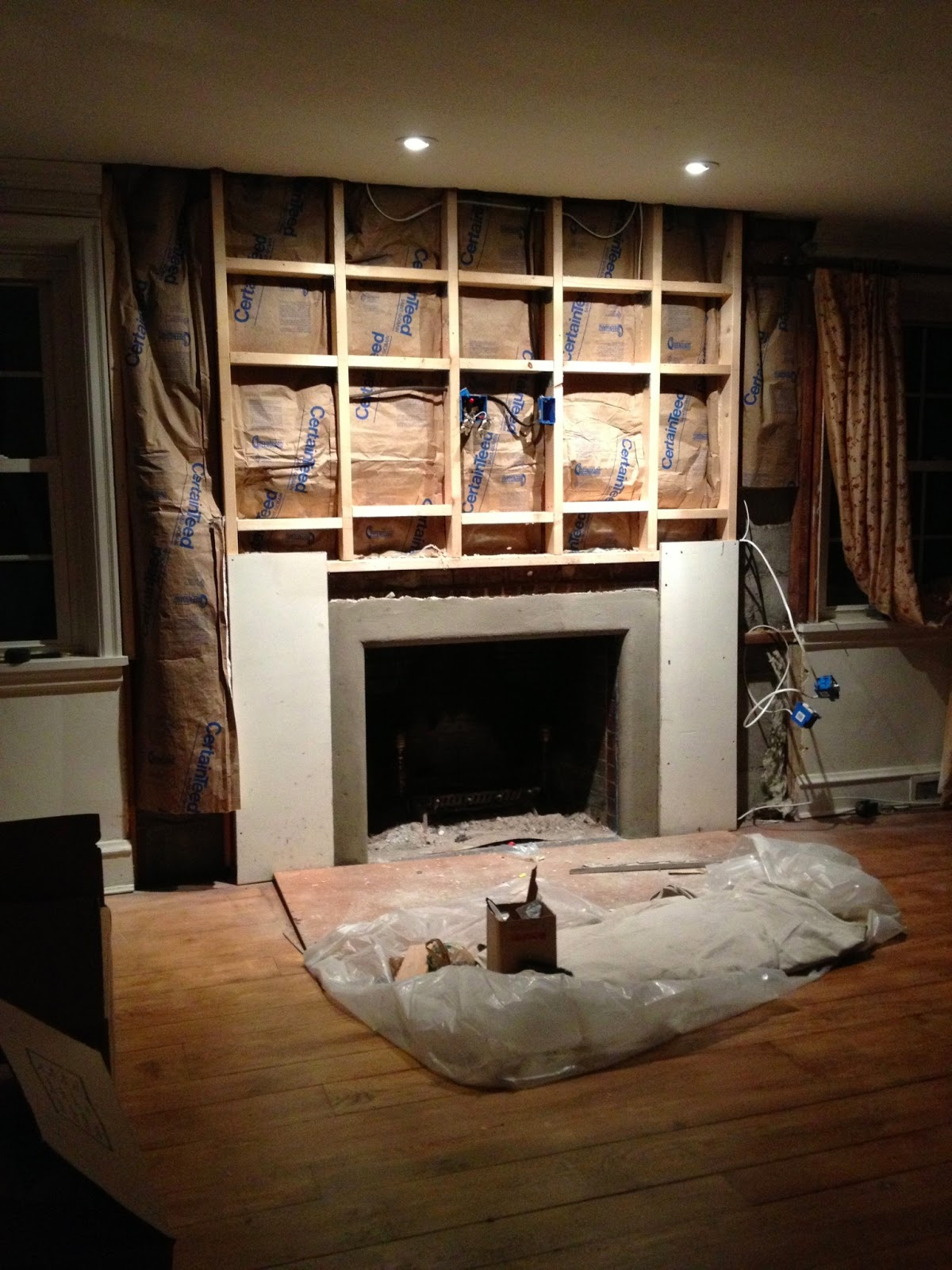 queen emma designs fireplace makeover remodel