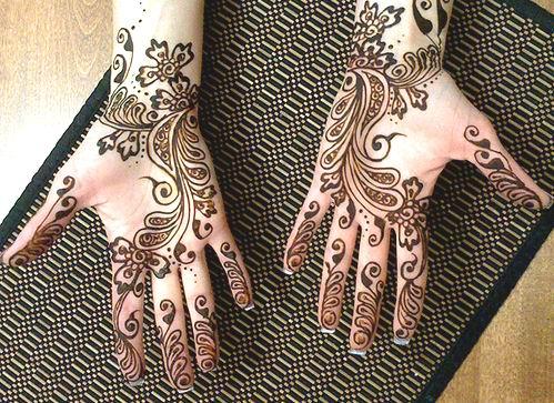 Mehndi Wrist Urban Dictionary : Rural and urban bridal mehndi designs for hands