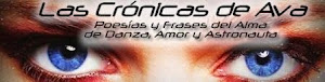 LAS CRÓNICAS DE AVA. POESÍAS Y FRASES DEL ALMA DE DANZA, AMOR Y ASTRONAUTA