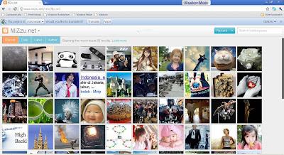 flipcard view mizzu.net