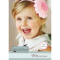 Ava Pink Felt Flower Kit