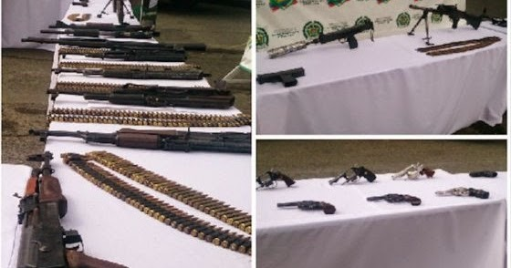 Periodico el conuco polic a descubre nueva modalidad para el trafico de armas de las farc - Lntoreor dijin ...