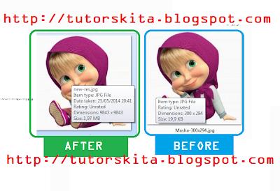 Memperbesar Ukuran dan Resolusi Foto dengan Adobe Photoshop