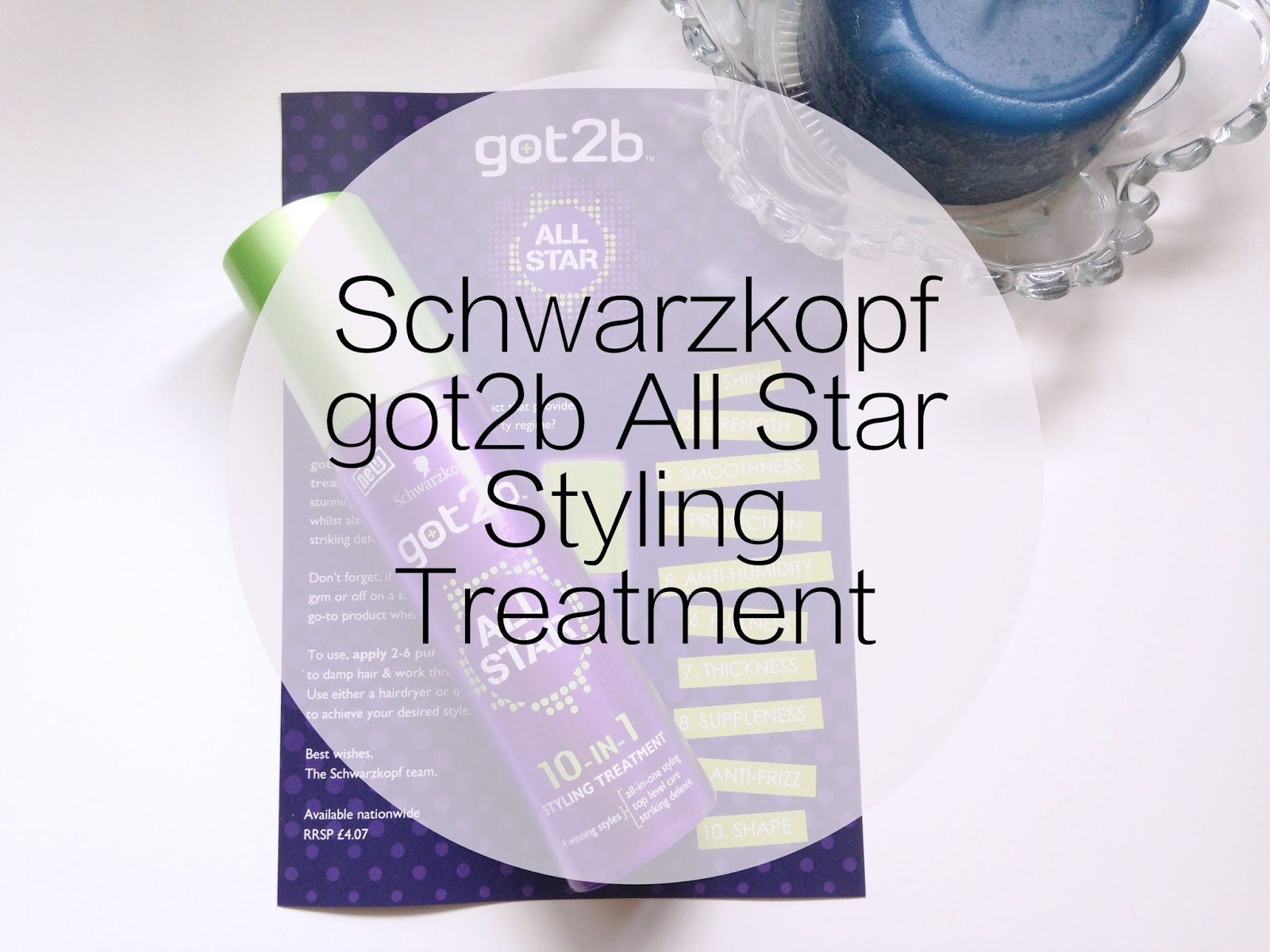 Schwarzkopf got2b All Star Styling Treatment