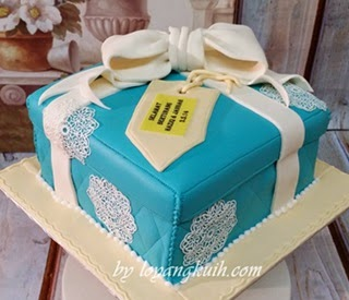 Hantaran Cake - Gift Box Cake