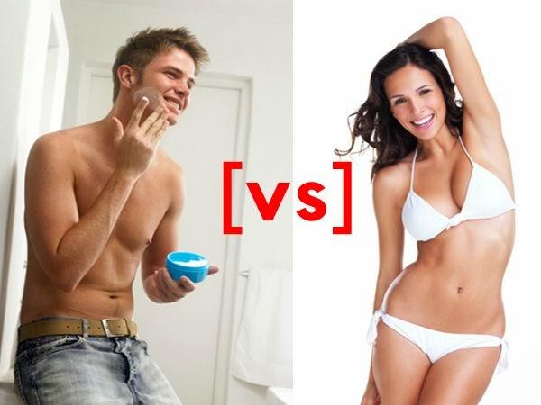 pria vs wanita