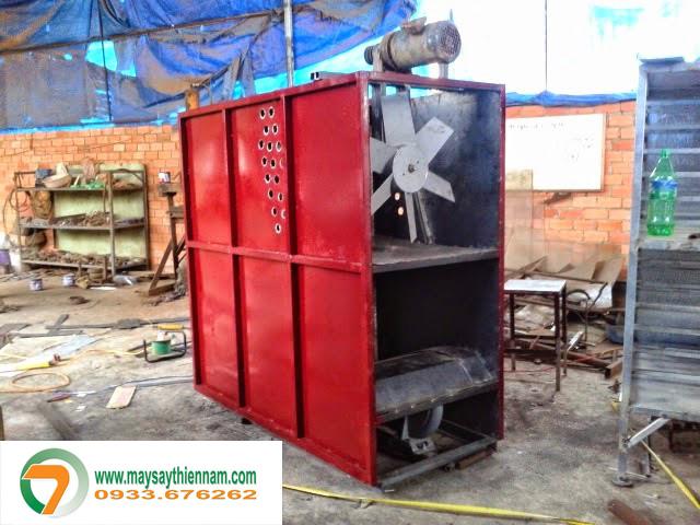 buồng đốt áp dụng công nghệ tuần hoàn khí nóng