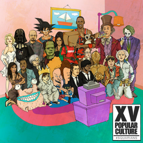XV Popular Culture front large XV   Popular Culture (Mixtape Stream / Download)