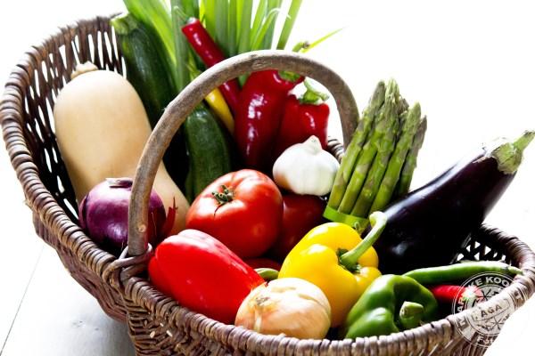 grote groenteschotel