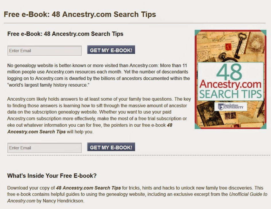 http://www.familytreeuniversity.com/free-ancestry-search-tips/