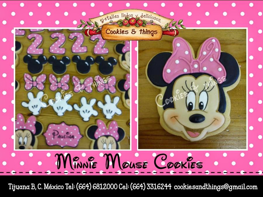 minnie mous cookies