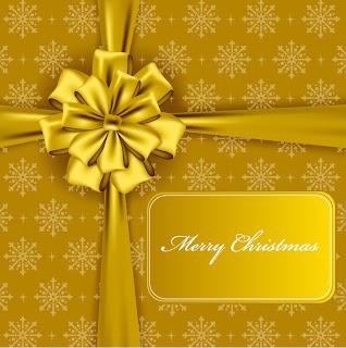 金色に輝くクリスマスの背景 beautiful christmas background vector イラスト素材5