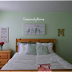 Tween Bedroom in Mint and Gold
