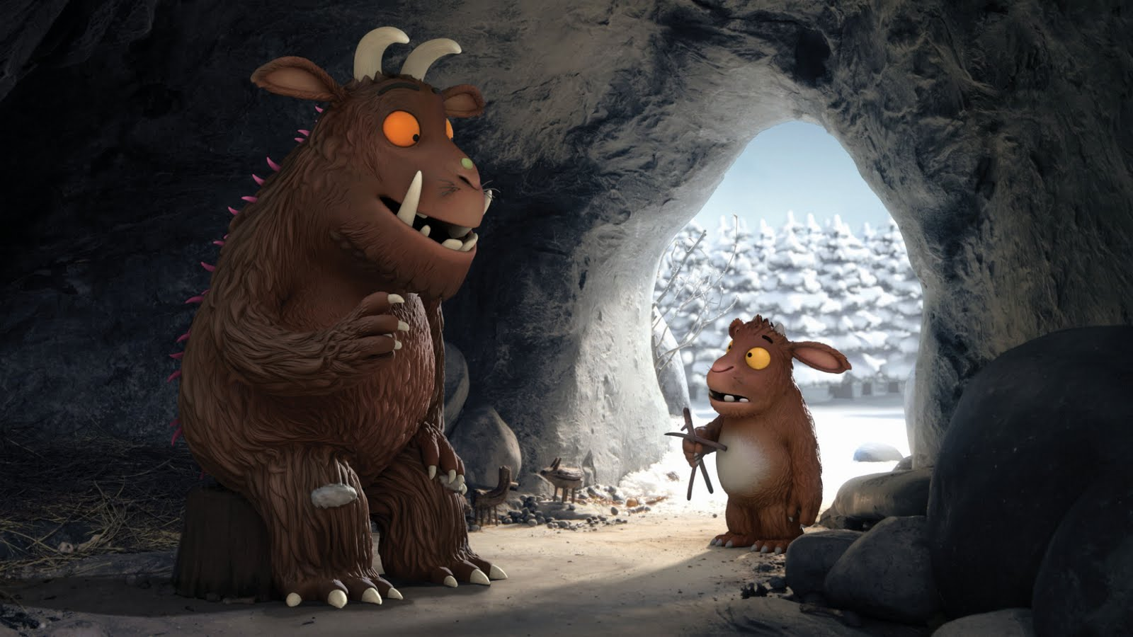 The Gruffalo´s Child listens to her Father - The Gruffalo