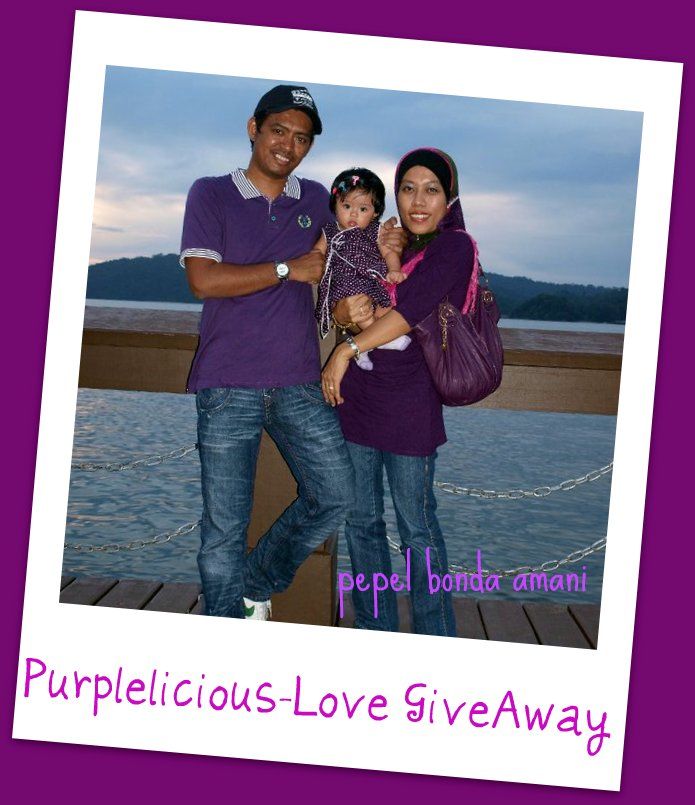 """Purplelicious-Love GiveAway"""
