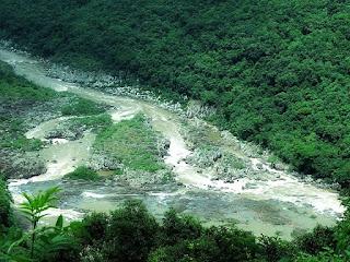 Cachoeirão do Rio das Antas, visto do Belvedere Sonda, em Nova Pádua.