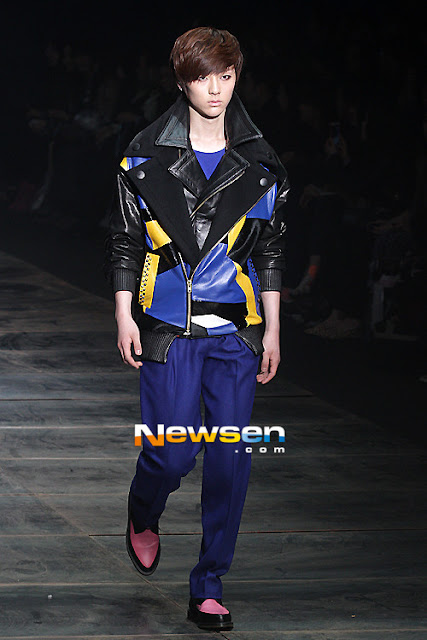 [Pic][070412] Minhyun en Seoul Fashion Week 2