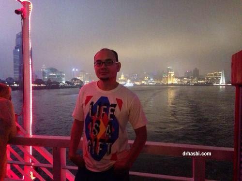 Melancong percuma ke Shanghai dengan Awesomazing team menaiki cruise