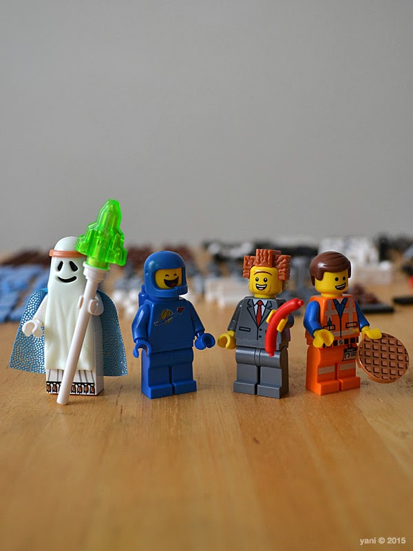lego: double decker couch - the spirit, the spaceman, the suit and the special
