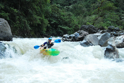 the Quijos is a very unique river has everything to be a classic on the whitewater list of Ecuador