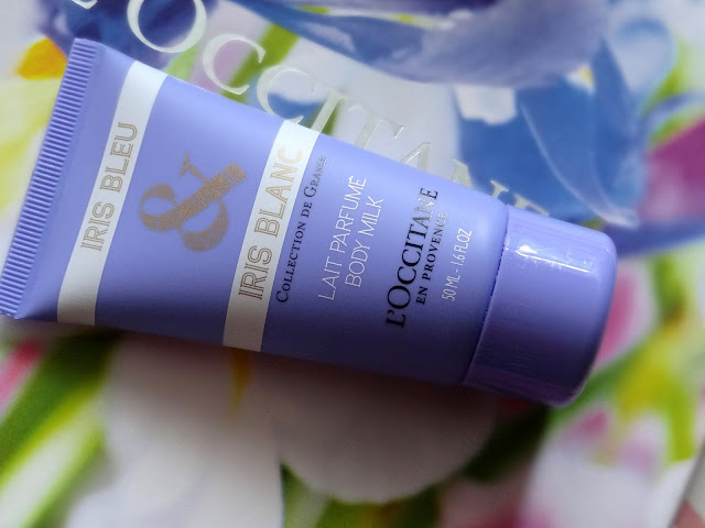 L'Occitane Iris Bleu & Iris Blanc Collection Body Milk