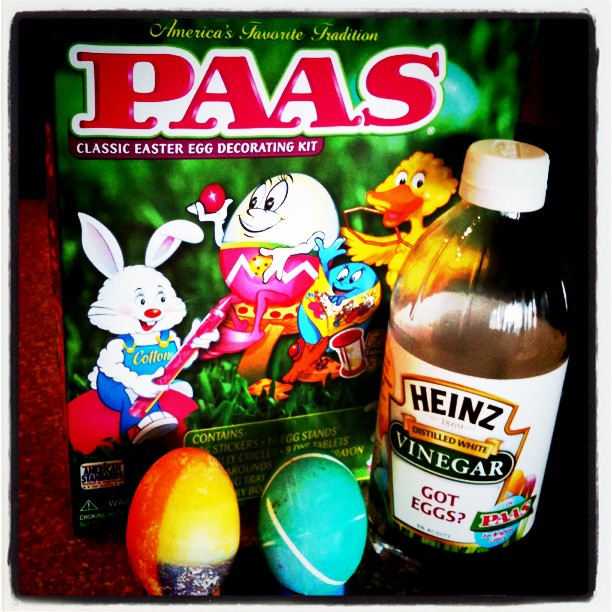 We Dyed Easter Eggs Fun With The PAAS Decorating Kit And Heinz Vinegar