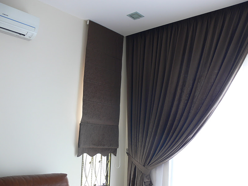 This Color Wonderful The Roman Blind For Both Tingkap Kat Tepi